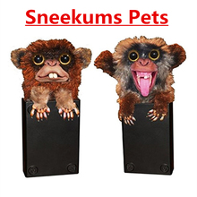 Sneekums Pets Make You Laugh Prank Toys Can Scare People Mischief Monkey Practical Jokes Halloween Days April Fool's Day Gift(China)