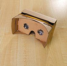 100X DIY Google Cardboard VR 3D VR Glasses Virtual Reality Goggles paper box for mobilephone