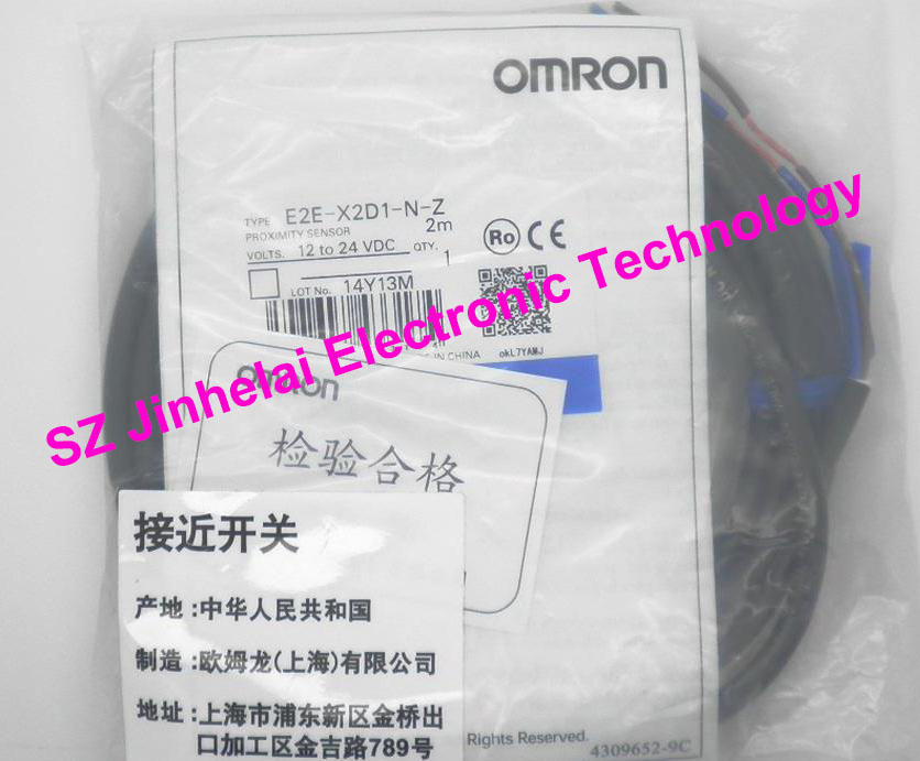 New and original  E2E-X2D1-N-Z,  E2E-X3D1-N-Z  OMRON Photoelectric Switch  12-24VDC   2M<br>