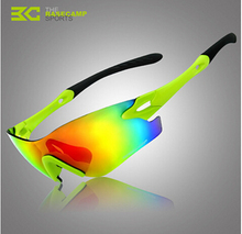 Basecamp Bike Bicycle Sport Glasses Cycling Glasses Frame Material Acetate Polarized Sunglasses(China)