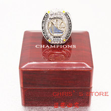 Drop Ship 2016-2017 Golden State Warriors World Championship Rings with wooden display box(China)