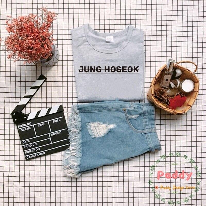 BTS KPOP koreanische stil streetwear BABY BABY CARAMEL MACCHIATO t shirt unisex frauen top brief druck grafik befree plus größe t