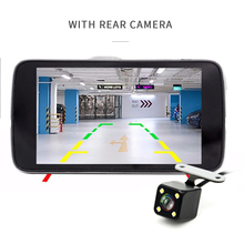 "Sales 4.0"" Car DVR Camera Dual Lens with LDWS ADAS Rear view Support Front Car Distance warning Full HD 1080P car dvrs dashcam"