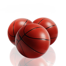 16cm Kids Basketball Inflatable Ball Bouncing Balls 6 Inch Rubber Basketball Toy Children Educational Outdoor&Indoor Sports Toys