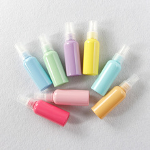 50ML Refillable Atomizer Bottle Travel Perfume Bottle Macaron Refillable Bottle Set Mini Empty Spary Candy Plastic Bottle