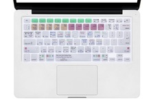For A1278 Ableton Live 9 Suite Letter Shortcut Hotkeys Design Silicone Keyboard Skin Cover for Macbook Pro Retina Air 13 15 17