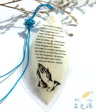 Veins bookmarks The bible in prayer Christian gifts  souvenir The leaves specimens Read your partner
