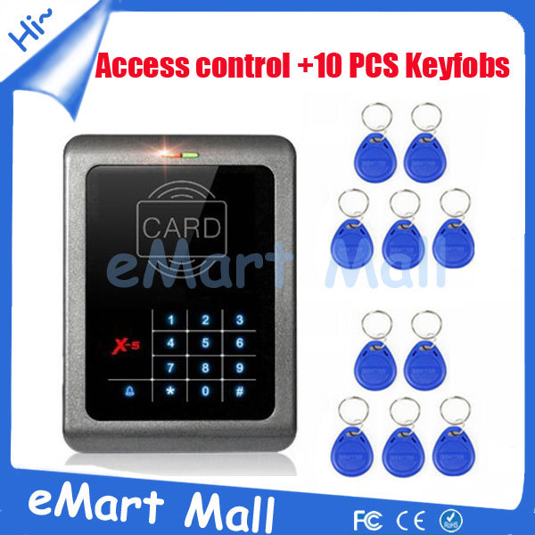 Touch Button RFID 125KHz touch Keypad Door Access Control  For Home/ Office Use free shipping<br>