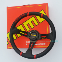 LYJ Free Shipping: Universal MOMO PVC Racing Steering Wheel 350mm Drifting Steering Wheel
