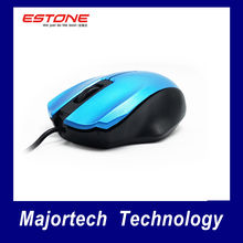 Estone M4 USB Wired Mouse Fashion New Special Design Professional Cable Mice Computer Desktops Laptops Worldwide Hot Sale