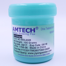 100% Original AMTECH NC-559-ASM 100g Lead-Free Solder Flux Paste For SMT BGA Reballing Soldering Welding Repair Tools No Clean(China)