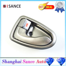 ISANCE Silver Inside Door Handle Front Left or Rear Left 82610-25000 For Hyundai Accent 2000 2001 2002 2003 2004 2005 2006(China)