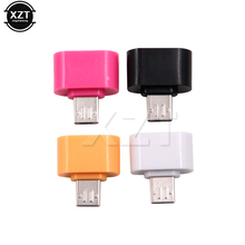 5PCS /LOT Micro USB OTG cable Mini extension Adapter Converter Plug and play For Android SmartPhone NEW(China)