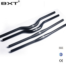 brand BXT carbon fiber bicycle handlebar matt / glossy mountain bike carbon handlebar 600mm - 720mm mtb bicycle parts(China)