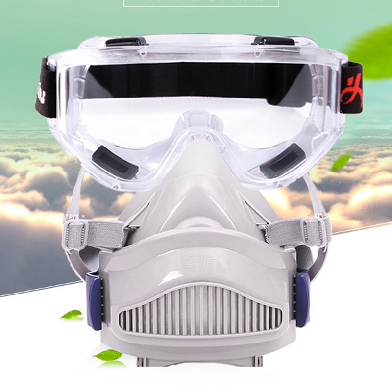Coal mine Dust mask Industrial dust burnish spray welding mask smoke Protection filter cotton respirator safety goggles glasses<br><br>Aliexpress