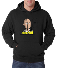 hot sale 2016 autumn winter warm fleece Anime One Punch Man Hoodies OK Printed Men Sweatshirts Anime sweatshirt men for fans