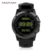 GPS Smart watch phone android watch IP68 Swim waterproof heart rate monitor pedometer 5.0 Mega camera WIFI bluetooth 3G SIM H1