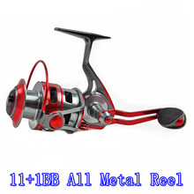 CATKING ACE20-12BB / 5.1:1 Full Metal Spinning Fishing Reel Ultra Light Waterproof Rock And Ice Reel All Metal Reel 2000