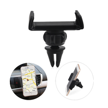 Car Phone Holder for Iphone 7 6 5S Air Vent Mount Car Holder 360 Degree Ratotable Support Mobile Car Phone Stand(China)