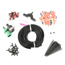 20M 4/7 mm Garden Hose Kits Automatic Micro Drip Irrigation Kits Plant Watering With Adjustable Dripper Smart Controller Suits