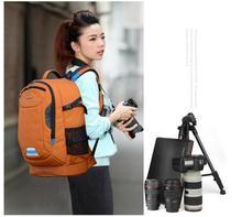 SY08-ORANGE Professional Waterproof Outdoor Bag Backpack DSLR SLR Camera Bag Case Black Nikon Canon Sony Pentax Fuji