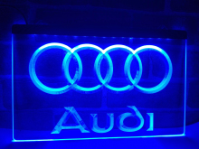 LG001- Audi LED Neon Light Sign hang sign home decor  crafts