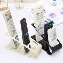Creative Living TV/DVD/VCR Step Remote Control Mobile Phone Holder Stand Storage Organiser Of Home Tools(China)