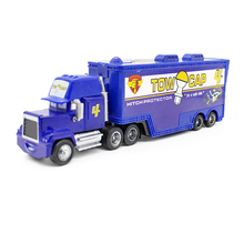 Disney Pixar Cars No.4 Mack Truck Tow Cap 1:55 Diecast Metal Alloy And Plastic Modle Car Toys Gifts For Children(China)