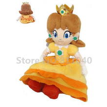 2016 Super Mario Plush Toy Sitting Princess Daisy Toys For Girls Gift 7in Collectible Stuffed Cute Doll Wholesale