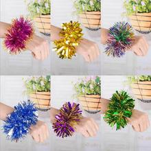 Cheerleaders Pom Poms Worn on the hand party Pom Poms cheerleader cheerleading pompoms pompones colores
