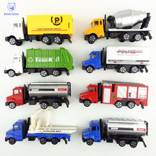 8 Style METAL Car Diecast Cars Toys Alloy Toys Car Models Collectible Skin City Bulldozers Tractor Models Truck Toys For Kids(China)