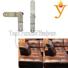 Living Room Furniture Hardware Adjustable Sofa Metal Part Folding Headrest/Armrest Hinges D18(China)