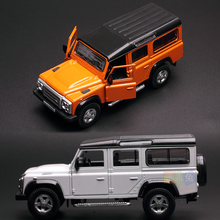UNI Brand New 1/36 Scale Britian Defender SUV Diecast Metal Pull Back Car Model Toy For Collection/Gift/Kids