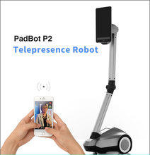PadBot P2, Office Electronics, humanoid Robot, Video Chat for meeting, baby monitor, smart home, smart electronic product(China)