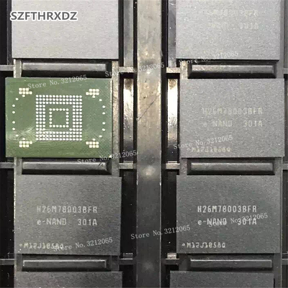 100% New Original H26M78003BFR 64GB EMMC BGA H26M78003BFRE-NAND<br>