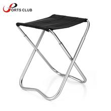 Portable Folding Chair Seat Stool  Aluminum Alloy  Fishing Chair Outdoor Camping Chair Fishing Stool