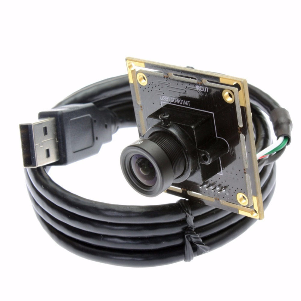 ELP 1.3 megapixel 960P 30fps Mjpeg usb 2.0 pc low light 0.01Lux 2.8mm wide angle lens web camera module For Android Mobile Phone<br>