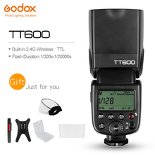 Godox TT600 2.4G Wireless GN60 Master/Slave Camera Flash Speedlite for Canon Nikon Pentax Olympus Fujifilm(China)
