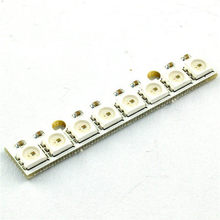 New High Quality 8 channel WS2812 5050 RGB LED lights built-in full color-driven development board Wholesale M