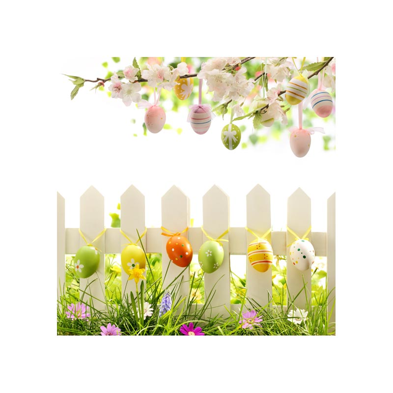colorful Easter eggs photography backdrops for photo studio taking newborn pictures 5X5ft GE-118<br><br>Aliexpress
