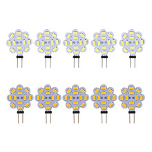 3W 12V SMD 5730 G4 LED Light Lamp Bulb Indoor A Set(5pcs) Super Bright Home Use White/Warm White two colour to choose