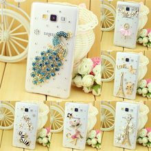 New A8 Case , Luxury Diamond Rhinestone Cover Case For Mobile Phone Samsung Galaxy A8 Cover Case