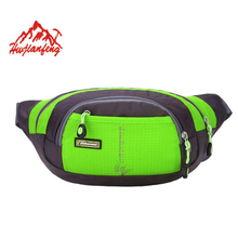 New Fashion Waist Packs Men Waterproof Nylon Belt Bag Men And Women Waist Bag High Quality Lightweight Mobile Phone Bag X637