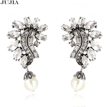 2017 Beautiful Trend Arrives Women Earrings Good Quality Vintage Earrings Crystal Earrings for Woman Statement Jewelry Wholesale(China)