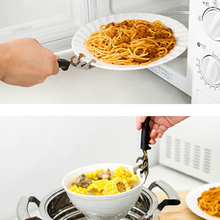 High quality 1pc Multifunction heat resistant Plate Holder Take Bowl Clip Bottle Opener Kitchen