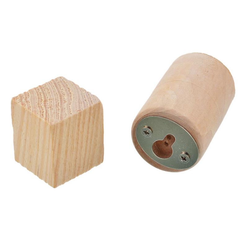 HTB11717cXuWBuNjSszbq6AS7FXas - Urijk 2PCs Ins Nordic Wood Eyelashes Cartoon 3D Wall Sticker DIY Children Bedroom Props Home Living Room Decoration 15*11cm
