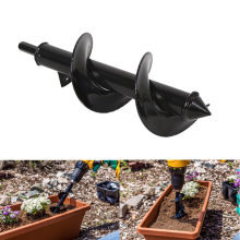Car repair Tools Spiral Drill Bit Roto Flower Planter Bulb haft Drill Auger Yard Gardening Bedding Planting Hole Digger Tool(China)