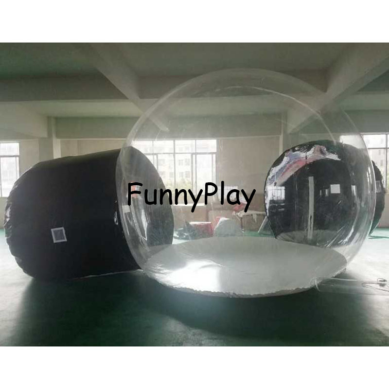 inflatable clear lawn bubble tent8