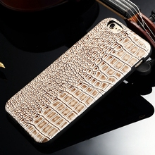Luxury Crocodile Cell Phone Cases for iphone 5 5S 5G High quality Soft TPU phone protective Back Housing Newest