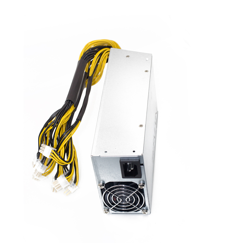 6PIN*10 power supply Antminer APW3++-12-1600W with power cables, ETH PSU for antminer S9 S7 L3 PSU